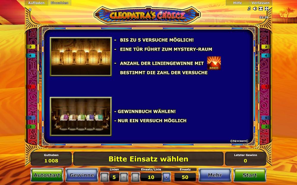 novoline casino online cleopatra bilder
