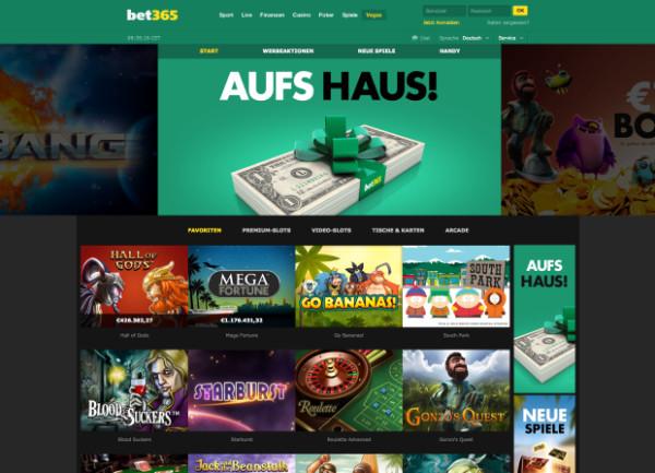 Vegas Bet365 Webseite