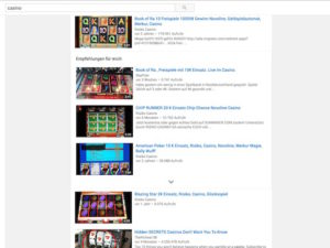 YouTube Casino Videos