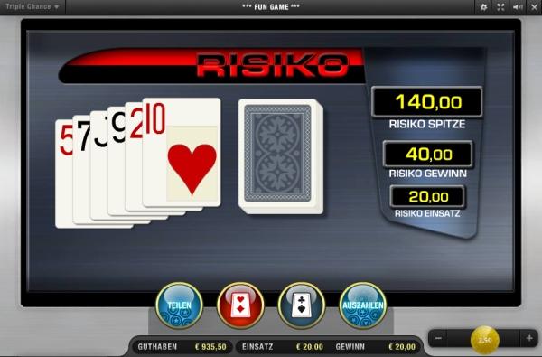 Gamble Merkur Risiko