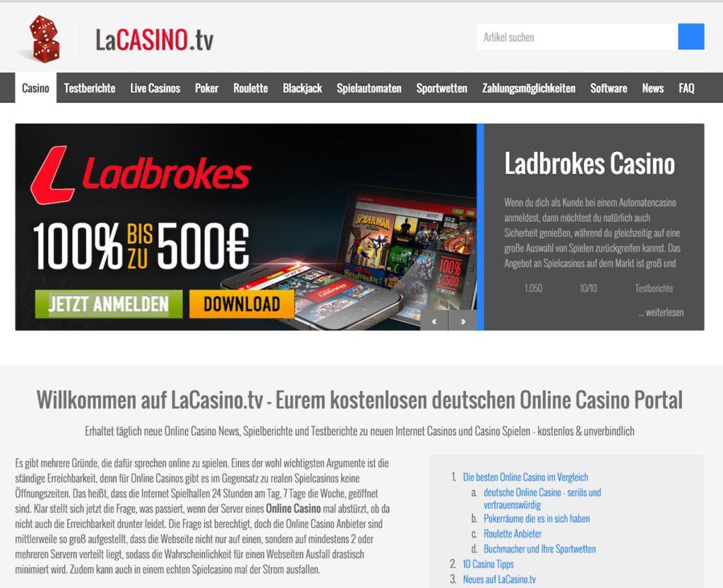 Lacasino.tv