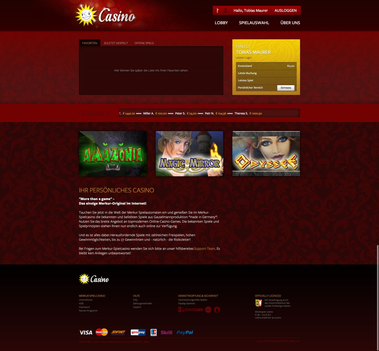 merkur slots online spielcasino online