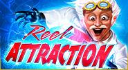 So sieht das Spiellogo von Reel Attraction aus.