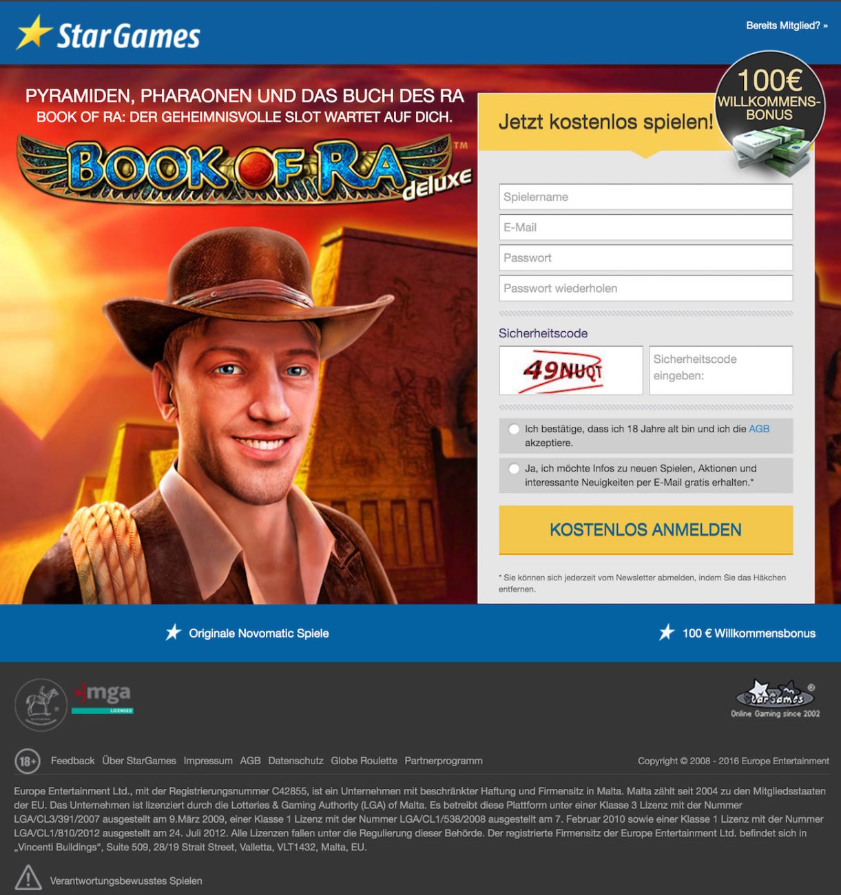 stargames bonus juli 2017