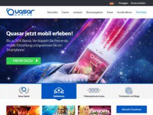 Quasargaming - Tolles Gesamtangebot inklusive iOS und Android Website