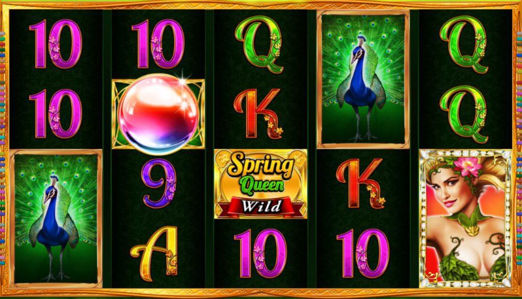 Spring Queen Stargames Novoline Spielaufbau
