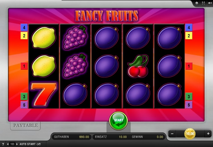 Fancy Fruits App Bally Wulff