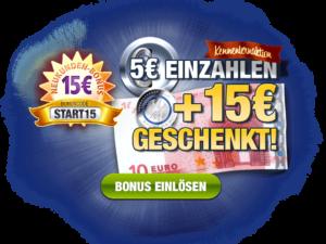 Stake7 Bonusangebot 15 Euro gratis