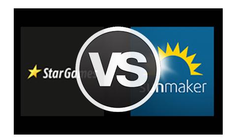 StarGames vs. Sunmaker im Vergleich – Wer gewinnt das Casino Duell?