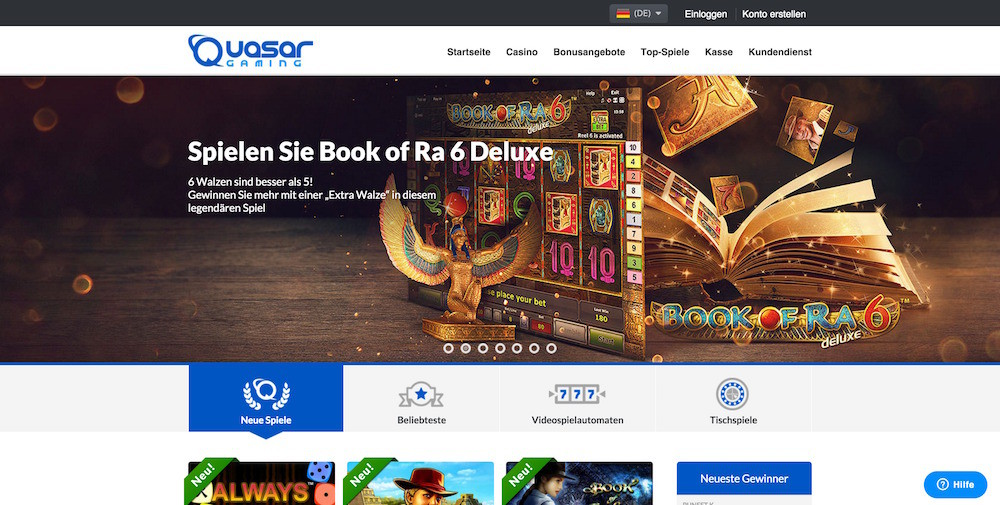 casino online betting biggest quasar