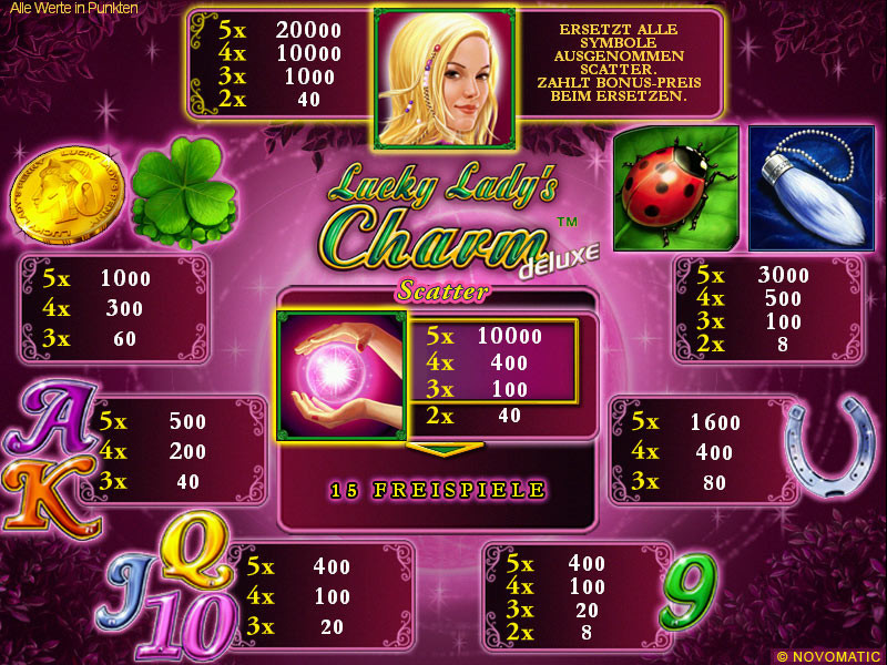 online casino ohne einzahlung lucky lady charm