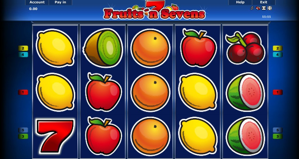 fruits n sevens spielen