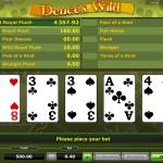 Deuces Wild Online spielen Spielaufbau.jpg