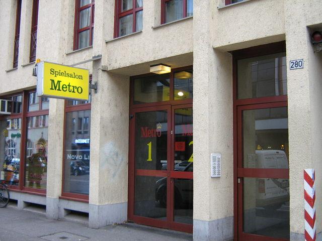 Spielsalon Metro in Freiburg