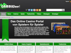 Gamblejoe Casinoportal