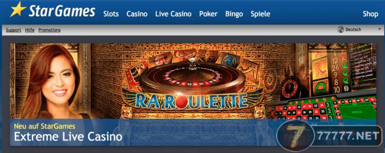 Ra Roulette Stargames