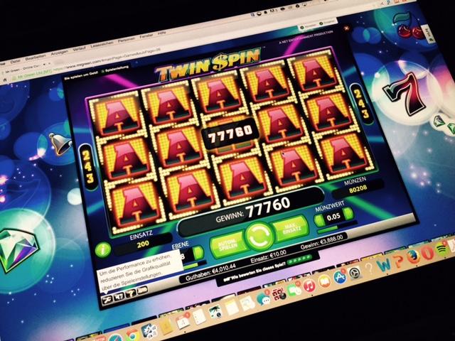 Twin Spin 3800 Euro Gewinn