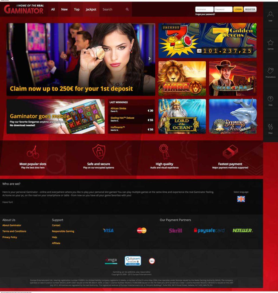 SuperGaminator-Casino
