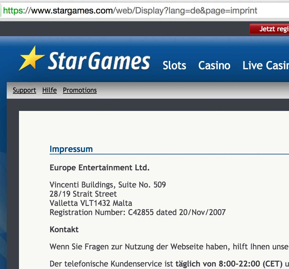 online casino deutschland erfahrung europe entertainment ltd