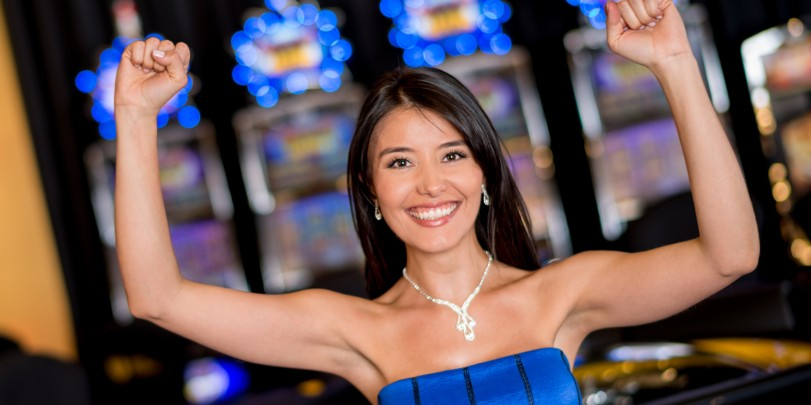 Frauen lieben Spielautomaten