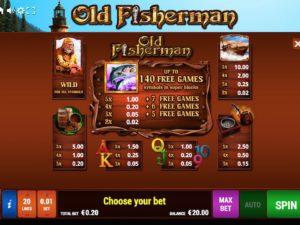 Old Fisherman Bally Wulff online spielen