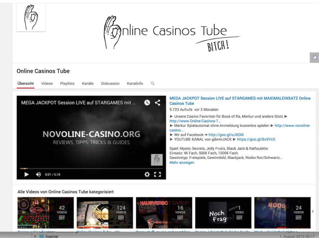 Online Casinos Tube