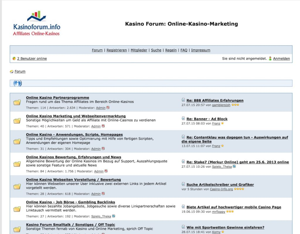 kasinoforum