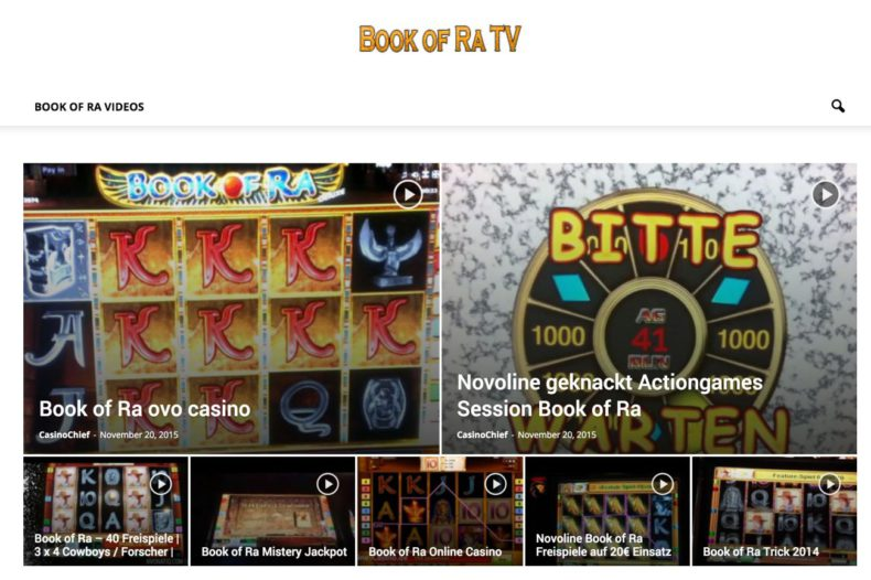 BookofRatv Videos