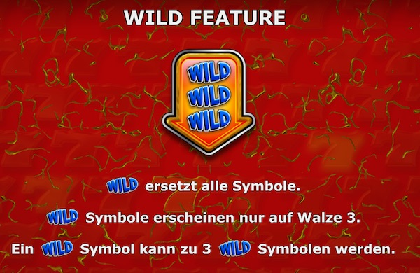 7s Gold Casino Wild Feature