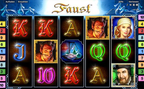Novoline Games Faust