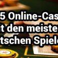 Größte Online Casinos mit den meisten Spielern