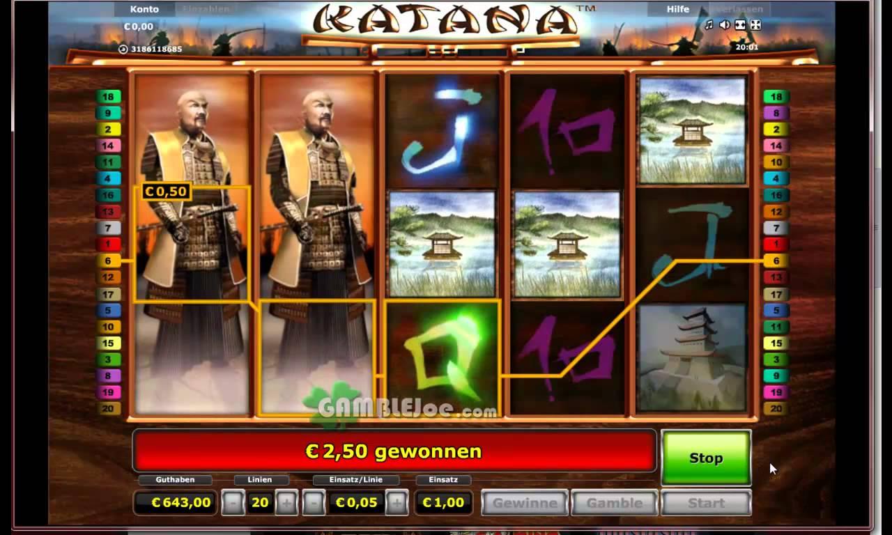 Katana-von-Novoline-online-gezockt-20-Freispiele-auf-1-Euro-guter-Gewinn