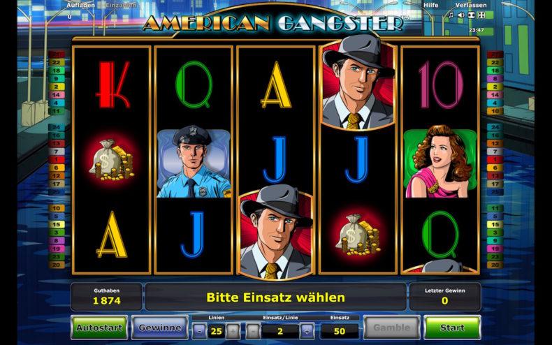 American Gangster Novoline online spielen