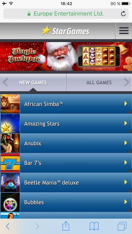 start games casino