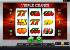 Die originale Triple Chance Version im SunMaker Online-Casino