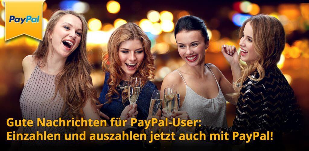 PayPal bei SuperGaminator