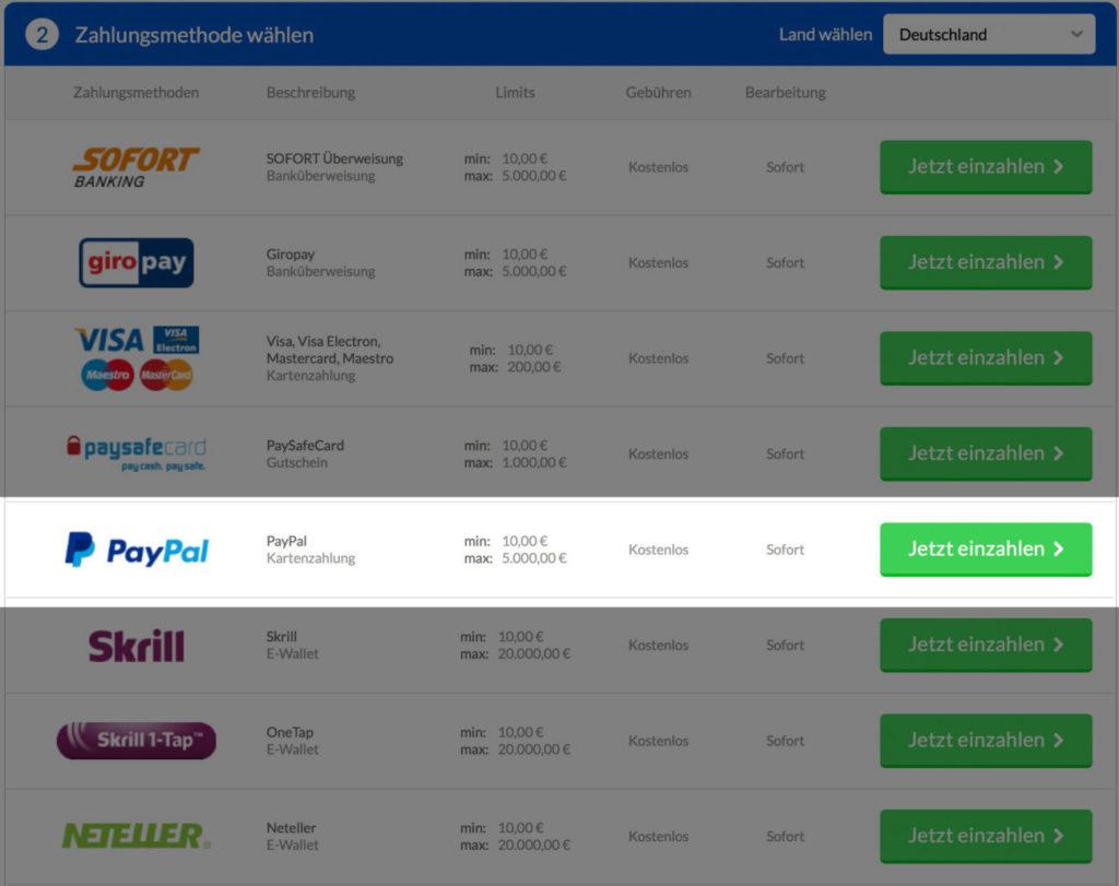 Quasargaming-Paypal-auswaehlen-mit-Bonus