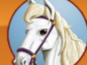 Weisses Pferd Jokers Cap