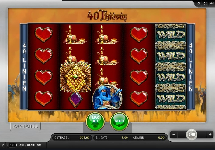 40 Thieves App Bally Wulff