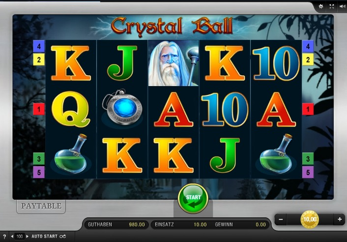 Crystal Ball App Bally Wulff