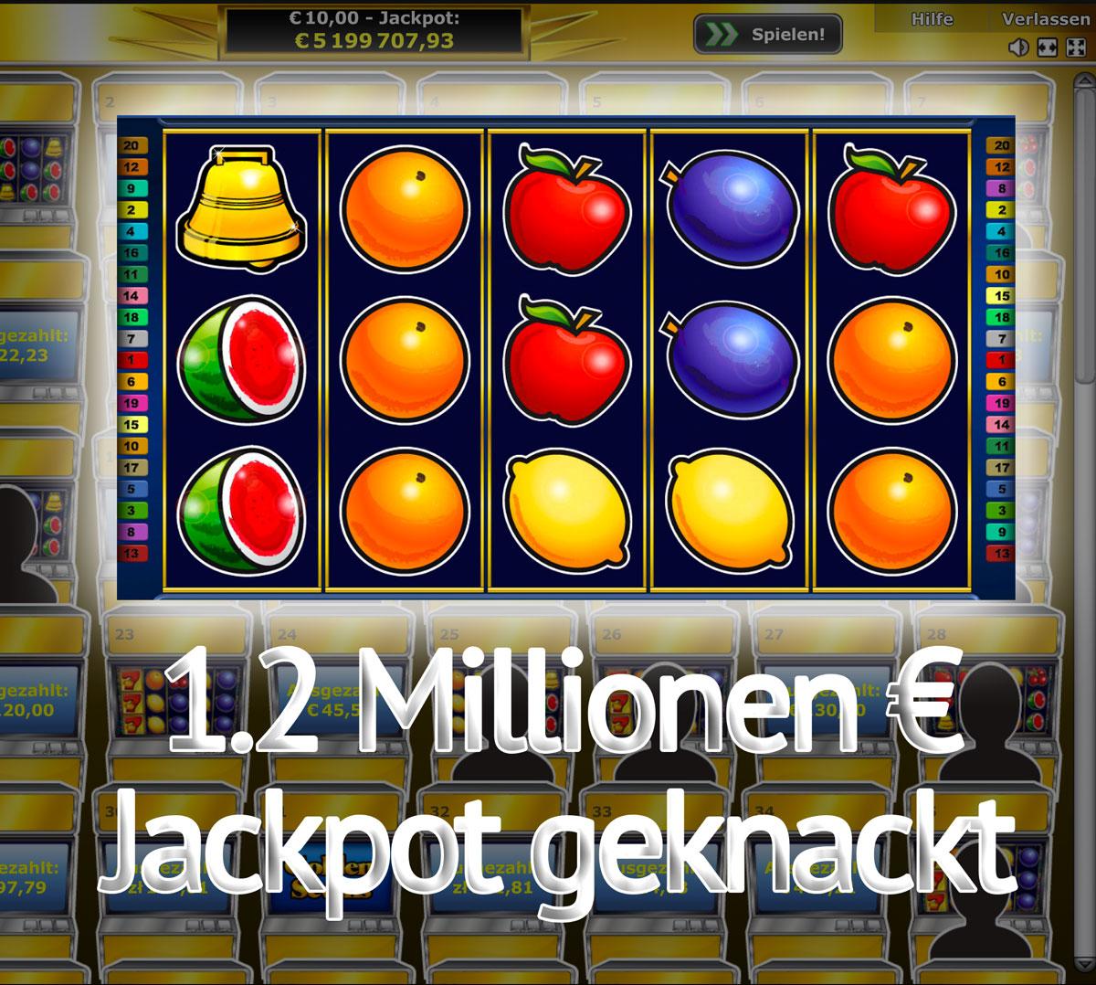 novoline jackpot 2 euro pro dreh