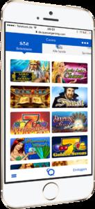 Quasar Gaming mobil auf dem Smartphone