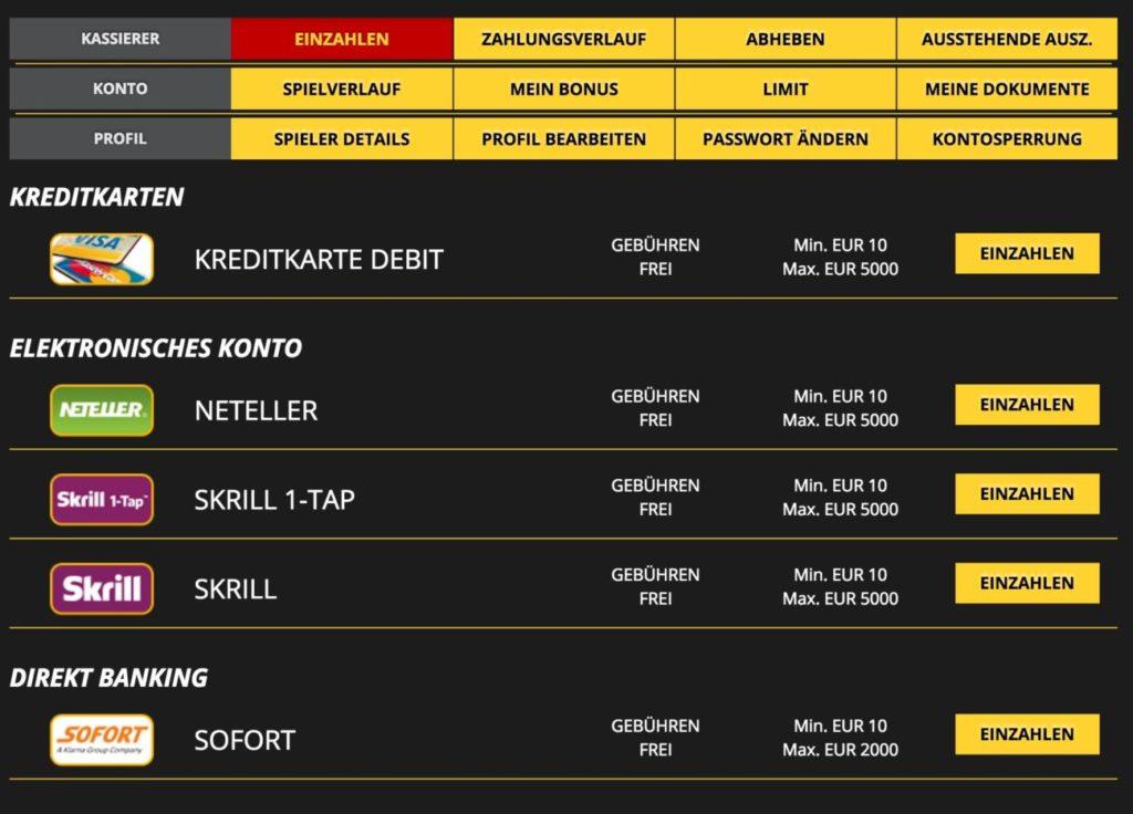 LVBet Casino und Sportwetten Online - Test und Bonus ohne Einzahlung