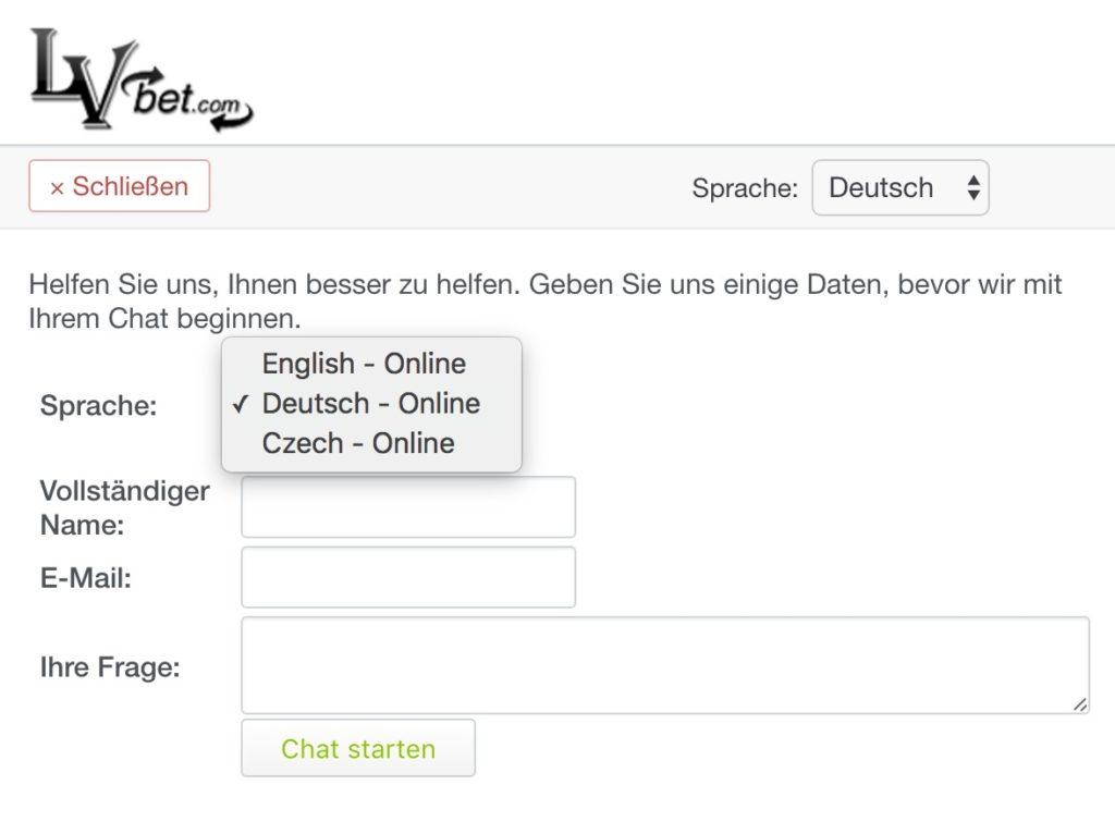 LvBet Live Chat