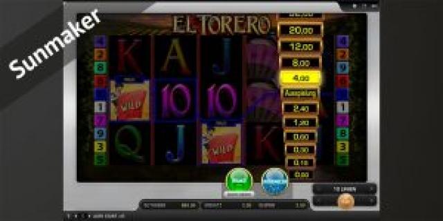 Sunmaker Spielautomat mit Risikoleiter