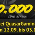 Die Quasargaming Time Attack laeuft von 12 September bis 03 Oktober