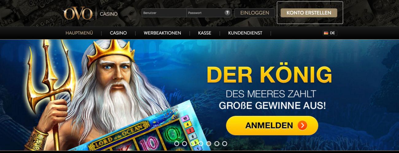 Ovo Casino Gutschein