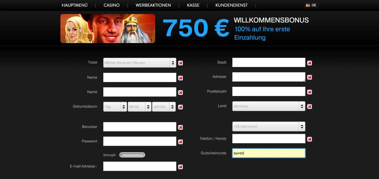 Ovo Casino Gutscheincode