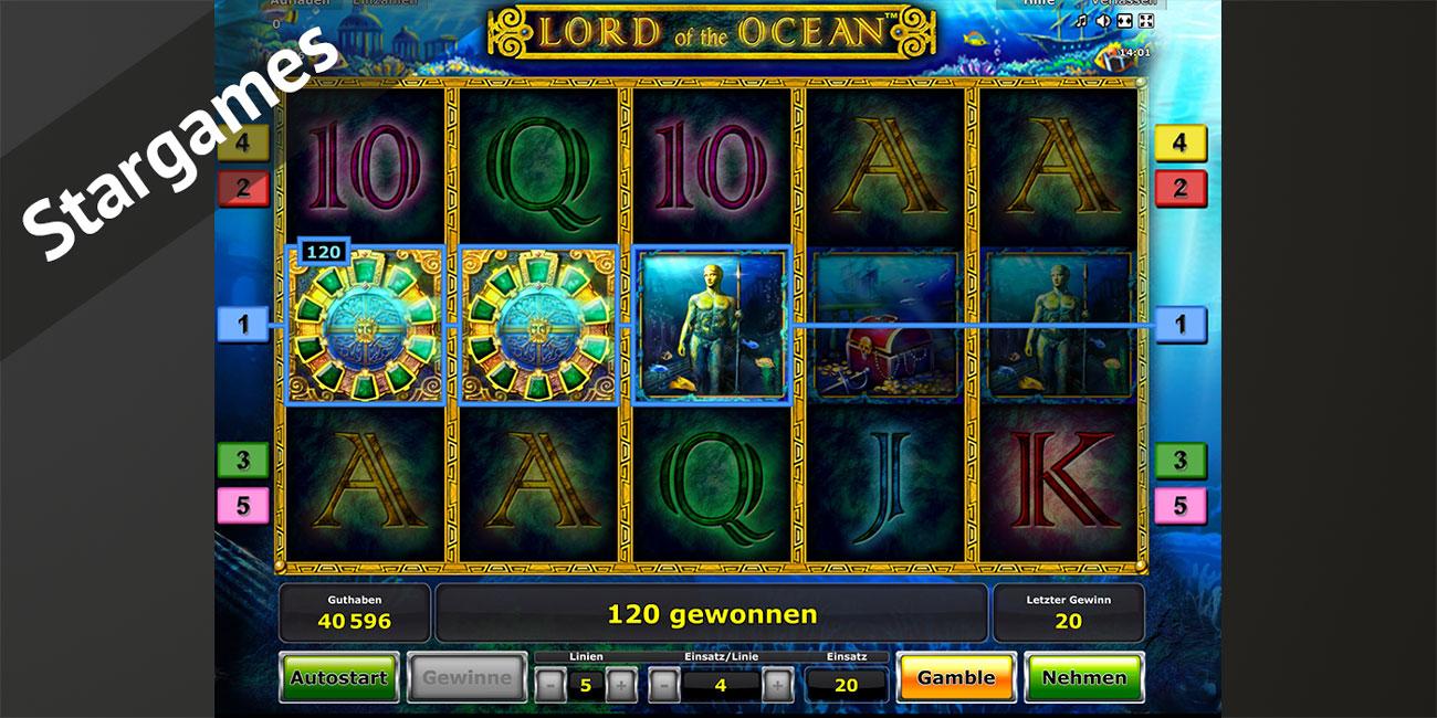 Test eines Slots bei Stargames