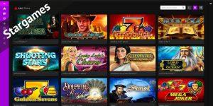 Spielautomaten bei Stargames inklusive NovoLine Games